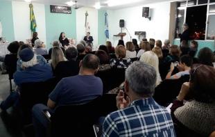 Lançamento do livro Reflexões e Experiências Entre Quatro Paredes no GREBAL BARRA MANSA. Julho de 2017